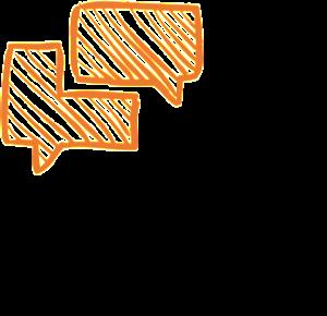 Linquos - Team Training - language connects - Schwarz-Orange - QUAD