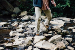 outdoors - stepping stones river